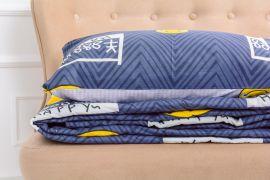 Акция на Летний постельный комплект MirSon №2671 Хлопок 17-0067 Manon одеяло 172x205 см + наволочки 2 х 50х70 см (2200003113761) от Rozetka