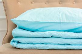 Акция на Летний постельный комплект MirSon №2690 Шерсть 12-4608 Lucretia одеяло 140x205 см + наволочки 2 х 50х70 см (2200003115314) от Rozetka