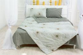 Акция на Летний постельный комплект MirSon №2613 Silk Kapok 19-2491 Leone Одеяло + 2 подушки 40x60 + 2 наволочки + простынь (2200003106299) от Rozetka