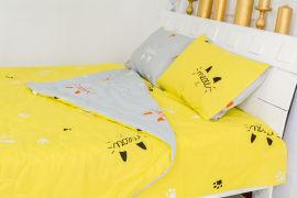 Акция на Летний постельный комплект MirSon №2507 Silk Kapok 19-2508 Cascata одеяло 155х215 см + наволочки 2 х 50х70 см + простынь 150x220 см (2200003099416) от Rozetka