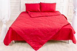 Акция на Летний постельный комплект MirSon №2509 EcoSilk 19-1655 Edmonda Одеяло + 2 подушки 50x70 + 2 наволочки + простынь (2200003100013) от Rozetka