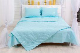 Акция на Летний постельный комплект MirSon №2595 Евкалипт 12-4608 Lucretia 2 одеяла + 2 подушки 50x70 + 2 наволочки + простынь (2200003105698) от Rozetka