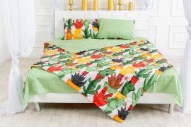 Акция на Летний постельный комплект MirSon №2433 Thinsulate 17-0002 Cecilio Одеяло + 2 подушки 50x70 + 2 наволочки + простынь (2200003102666) от Rozetka