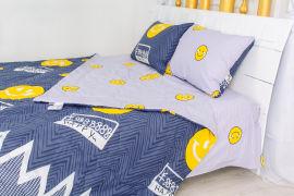 Акция на Летний постельный комплект MirSon №2468 BamBoo 17-0067 Manon одеяло 110х140 см + наволочки 2 х 40х60 см + простынь 110x160 см (2200003095463) от Rozetka