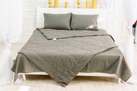 Акция на Летний постельный комплект MirSon №2580 Шерсть 16-5803 Geronimo Одеяло + 2 подушки 40x60 + 2 наволочки + простынь (2200003104509) от Rozetka