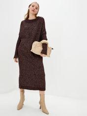 Акция на Платье Sewel PW578680000 One Size Бордовый меланж (Sew2000000125268) от Rozetka