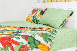 Акция на Летний постельный комплект MirSon №2457 Хлопок 17-0002 Cecilio одеяла 2 х 140х205 см + наволочки 2 х 50х70 см + простынь 220x240 см (2200003095258) от Rozetka
