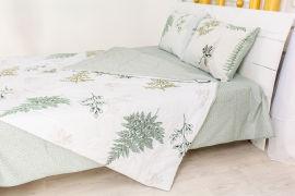 Акция на Летний постельный комплект MirSon №2455 Хлопок 17-0006 Donata одеяла 2 х 155х215 см + наволочки 2 х 50х70 см + простынь 220x240 см (2200003095128) от Rozetka