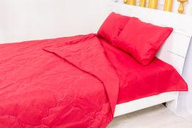 Акция на Летний постельный комплект MirSon №2401 EcoSilk 19-1655 Edmonda одеяла 2 х 155х215 см + наволочки 2 х 50х70 см + простынь 220x240 см (2200003034271) от Rozetka