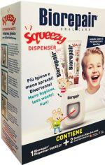 Акция на Набор Biorepair Веселый мышонок Диспенсер + Зубная паста 2 шт (8017331076125) от Rozetka