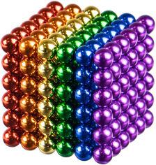 Акция на Магнитный конструктор Berger Неокуб 216 шариков 5 мм Разноцветный (NeoCube 5mm Rainbow) (8596165040248) от Rozetka