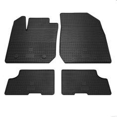 Акция на RENAULT Logan - комплект качественных резиновых ковриков. Комплект 4 шт. (2012...) от Allo UA