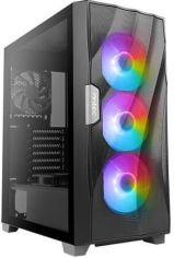 Акция на Корпус Antec DF700 FLUX, Gaming, MidT, 2*USB3.0, 3*102ARGB+2x120мм,стекло (бок. панель),без БП,черны (0-761345-80070-9) от MOYO