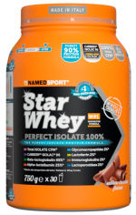 Акция на Протеин Namedsport STAR WHEY ISOLATE 750 г Шоколад (8054956340965) от Rozetka