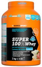 Акция на Протеин Namedsport SUPER 100% WHEY 2 кг Белый шоколад-клубника (8054956341016) от Rozetka