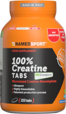 Акция на Креатин Namedsport 100 % CREATINE 120 таблеток (8054956340347) от Rozetka