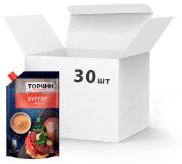 Акция на Упаковка соуса ТОРЧИН Бургер 200 г х 30 шт (7613036342063) от Rozetka