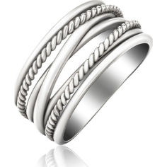 Акция на Кольцо из серебра, размер 19.5 (1722683) от Allo UA