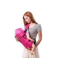 Акция на Кенгуру Умка №8 рюкзак-переноска до 13 кг Розовый от Allo UA