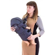 Акция на Кенгуру Умка №8 рюкзак-переноска до 13 кг Графит от Allo UA