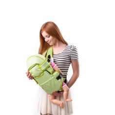 Акция на Кенгуру Умка №8 рюкзак-переноска до 13 кг Салатовый от Allo UA