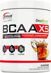 Акция на Аминокислота Genius Nutrition BCAA-X5 360 г Кола (5402869110015) от Rozetka