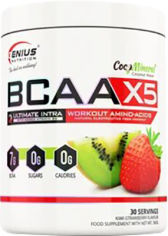 Акция на Аминокислота Genius Nutrition BCAA-X5 360 г Киви-клубника (5406872106294) от Rozetka