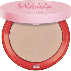 Акция на Хайлайтер Pupa Fight A Like Woman Highlighter №001 Don`t Give Up Golden Rose 6.5 г (8011607346219) от Rozetka
