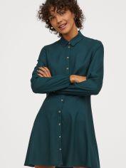 Акция на Платье H&M 0714620-0 42 Зеленое (2000001812716) от Rozetka