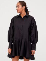 Акция на Платье H&M 0858381-1 L Черное (2000001812815) от Rozetka