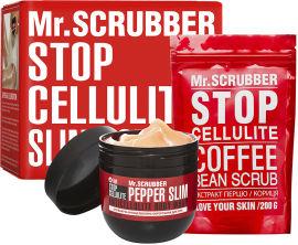 Акция на Антицеллюлитный набор Mr.Scrubber Согревающее обертывание + Скраб (4820200331140) от Rozetka