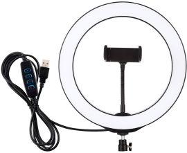 """Акция на Кольцевая USB LED лампа Puluz PU397 10.2"""" от Rozetka"""