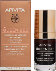 Акция на Крем для кожи вокруг глаз Apivita Queen Bee для комплексной защиты от старения 15 мл (5201279071820) от Rozetka