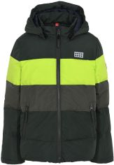 Акция на Зимняя куртка Lego Wear Lwjipe 705-871 116 см Темно-зеленая (5700067905793) от Rozetka