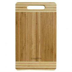 Акция на Доска кухонная бамбуковая прямоугольная 34 х 20 х 2 см Lessner 10301-34 LS от Allo UA
