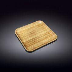 Акция на Блюдо Wilmax Bamboo квадратное 24 х 24 см 771024 WL от Allo UA