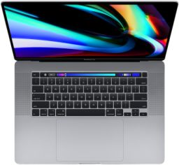 Акция на Apple MacBook Pro 16 Retina Space Gray with Touch Bar Custom (Z0Y0000PE) 2019 от Stylus