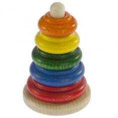 Акция на Пирамидка деревянная Nic классическая разноцветная (NIC2310) от MOYO