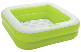 Акция на Детский бассейн Intex 57100 Green 85х85х23 см (Intex 57100 green) от Rozetka