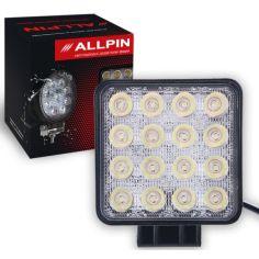 Акция на Дополнительная Led фара Allpin Lite 48 Вт, 16 диодов по 3Вт(7599S48L) от Allo UA