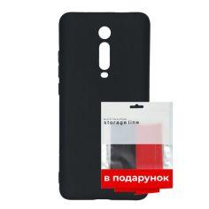 Акция на Чехол силиконовый ARS для Xiaomi Mi 9T Black + органайзер в подарок (ARS55335) от Allo UA
