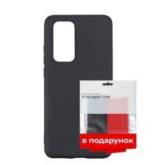 Акция на Чехол силиконовый ARS для Huawei P40 Black + органайзер в подарок (ARS56271) от Allo UA