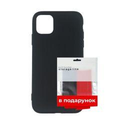 Акция на Чехол силиконовый ARS для Apple iPhone 11 Pro Black + органайзер в подарок (ARS55560) от Allo UA