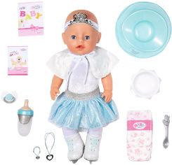 Акция на Кукла Baby Born серии Нежные объятия - Балеринка-снежинка (43 см, с аксессуарами) (831250) от Stylus