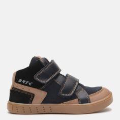 Акция на Ботинки Bartek W-24414-001 30 (19.6 см) Черный/Коричневый (5903607590927) от Rozetka