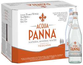 Акция на Упаковка минеральной негазированной воды Acqua Panna 0.75 л х 12 бутылок (8002270057656) от Rozetka