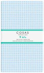 Акция на Простынь на резинке Cosas Cell Blue 60х120 (4822052060131) от Rozetka