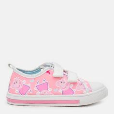 Акция на Кеды Disney Peppa Pig 2300004709 26 (17.6 см) Розовые (8427934533350) от Rozetka