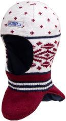 Акция на Зимняя шапка-шлем David's Star 17330 50 см Бордовая (ROZ6400021795) от Rozetka