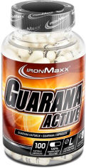 Акция на Энергетик IronMaxx Guarana Active - 100 капс (4260196290760) от Rozetka